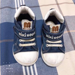 ミキハウス(mikihouse)のミキハウス  靴15センチ  スニーカー(スニーカー)