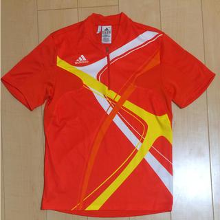アディダス(adidas)の【値下げ】アディダス Tシャツ 美品 ロードバイク(ウエア)
