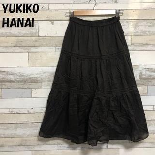 ユキコハナイ(Yukiko Hanai)の【人気】YUKIKO HANAI/ユキコハナイ レース スカート サイズ10(ロングスカート)