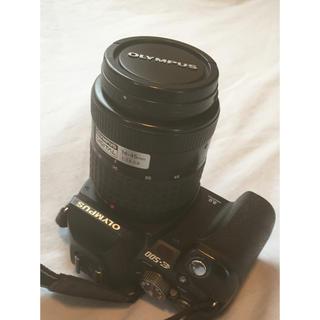 オリンパス(OLYMPUS)のOLYMPUS E-500 デジタル一眼レフ レンズ付き(デジタル一眼)