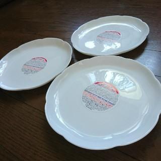 ヤマザキセイパン(山崎製パン)の2019年モデル 山パン皿 3枚 新品未使用(食器)