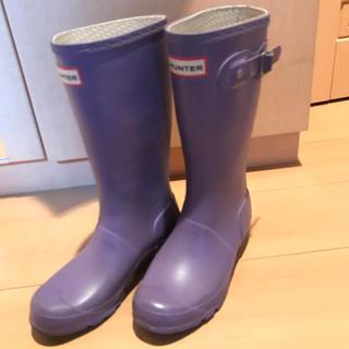 ハンター(HUNTER)のHUNTER ハンターレインブーツkids EU34 UK2(長靴/レインシューズ)
