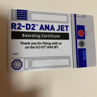 エーエヌエー(ゼンニッポンクウユ)(ANA(全日本空輸))のスター・ウォーズANA搭乗者限定カード(ノベルティグッズ)