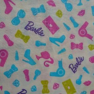 バービー(Barbie)の生地 Barbie ダブルガーゼ 50×30(生地/糸)