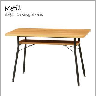 ビーカンパニー(B-COMPANY)のB-company ケティル ダイニングテーブル 高さ68cm(ダイニングテーブル)