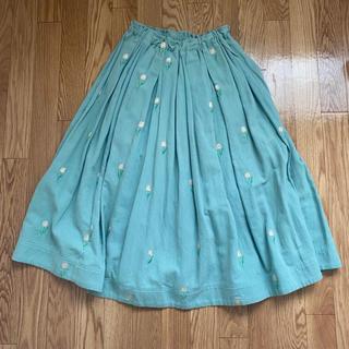 フランシュリッペ(franche lippee)のフランシュリッペ テュルぺ刺繍スカート(ロングスカート)