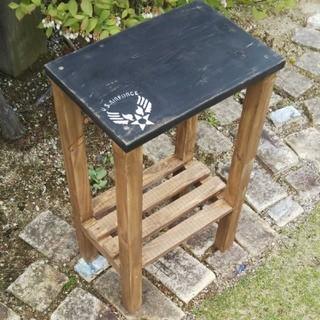 ローテーブル スツール 飾り棚 サイドテーブル(家具)