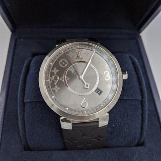 ルイヴィトン(LOUIS VUITTON)のLOUIS VUITTON 時計  クオーツ タンブールスリム エクリプス (腕時計(アナログ))