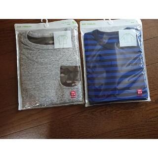 ユニクロ(UNIQLO)のユニクロ長袖、半袖(Tシャツ/カットソー)