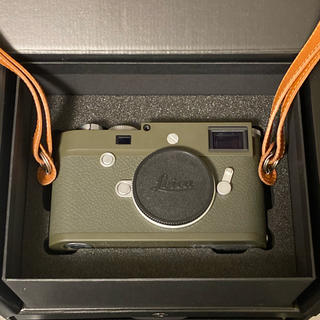 ライカ(LEICA)のライカM10-P サファリ1500台限定 Voigtlander Nokton付(コンパクトデジタルカメラ)