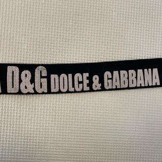 ディーアンドジー(D&G)のD&G ドルチェ&ガッバーナ ベルト(ベルト)