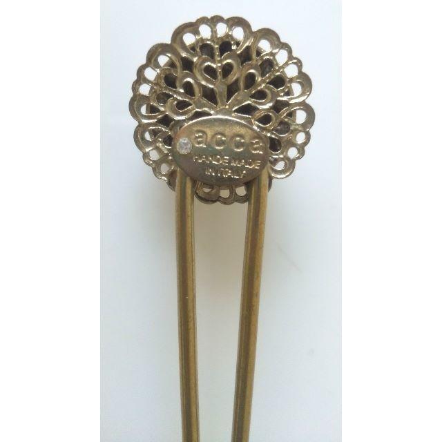 acca(アッカ)のacca  かんざし ゴールド 美品 浴衣姿にも レディースのヘアアクセサリー(その他)の商品写真