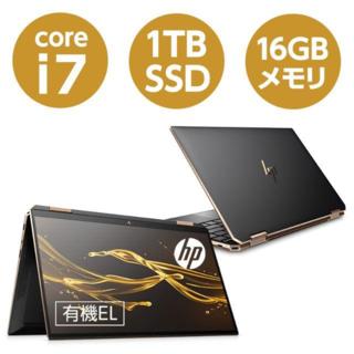 ヒューレットパッカード(HP)のHP Spectre x360 13 4K有機EL 2019.12モデル 美品 (ノートPC)