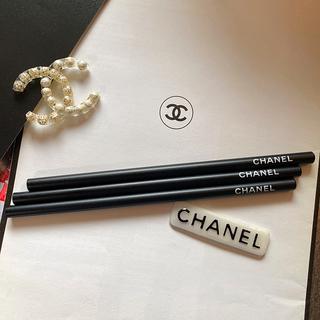 シャネル(CHANEL)の【非売品】CHANEL シャネル  鉛筆3本セット(鉛筆)