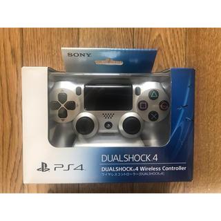 プレイステーション4(PlayStation4)のPS4 DUALSHOCK4 Wireless Controller  シルバー(その他)