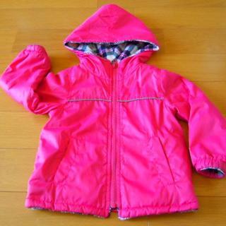 イーストボーイ(EASTBOY)のEastBoy  女の子用フード付ジャケット えんじ色 サイズ100(ジャケット/上着)