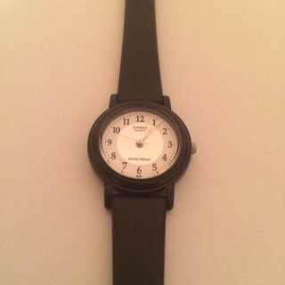 カシオ(CASIO)のCASIO腕時計(ラバーベルト)