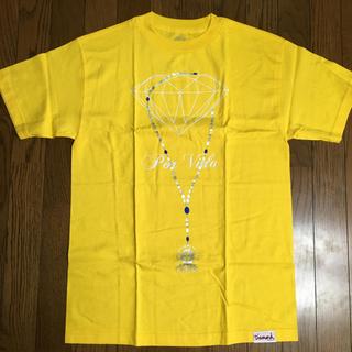 Diamond SUPPLY CO. POR VIDA TEE イエロー(Tシャツ/カットソー(半袖/袖なし))