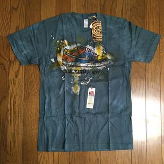 KULTJAH s/s TEE (NIKE SB) タイダイ染め チャコール(Tシャツ/カットソー(半袖/袖なし))
