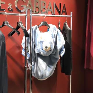 ドルチェアンドガッバーナ(DOLCE&GABBANA)のクマのアウター(毛皮/ファーコート)