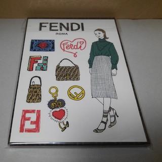 フェンディ(FENDI)のファンディ/FENDI/メモ帳/シール/未使用品(ノート/メモ帳/ふせん)