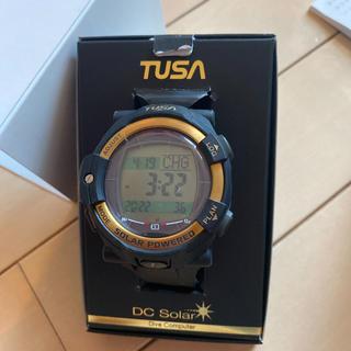 ツサ(TUSA)のTUSA IQ1204 DC SOLOR LINK ダイブコンピューター美品(マリン/スイミング)