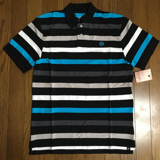 NIKE ボーダー鹿子ポロシャツ 405873 サイズL  新品(ポロシャツ)