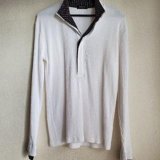 コムサイズム(COMME CA ISM)のCOMM CA ISM 綿100% 長袖カットソー(Tシャツ/カットソー(七分/長袖))