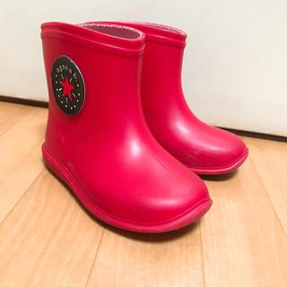 アニエスベー(agnes b.)のアニエスベー レインブーツ 14センチ(長靴/レインシューズ)