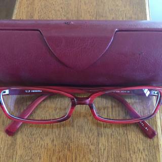 ユーピーレノマ(U.P renoma)のユーピーレノマ メガネ 眼鏡 レッド(サングラス/メガネ)