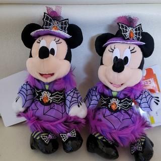 ディズニー(Disney)の2016 ハロウィーン ぬいぐるみバッチ 二個(ぬいぐるみ)