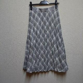 アンタイトル(UNTITLED)の極美品 アンタイトル プリーツスカート (ロングスカート)