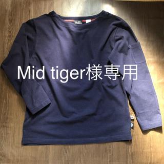 ジムマスター(GYM MASTER)のgym master カットソー ロンT ネイビー(Tシャツ/カットソー(七分/長袖))