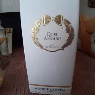 アニックグタール(Annick Goutal)のANNICK GOUTAL QUEL AMOUR(香水(女性用))