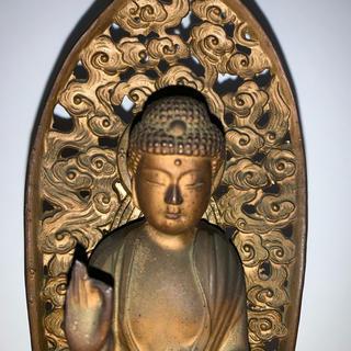 仏像 金属製 阿弥陀如来(彫刻/オブジェ)