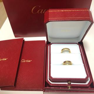 カルティエ(Cartier)のカルティエCartier ミニラブリング7号15号セット美品(リング(指輪))