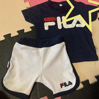 フィラ(FILA)のFILA セットアップ(Tシャツ)