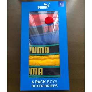 プーマ(PUMA)の新品未使用 PUMAボクサーパンツLサイズ(ボクサーパンツ)