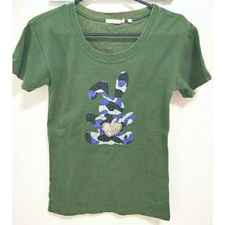 エーズラビット(Asrabbit)の半袖Tシャツ ASRABBIT モスグリーン(Tシャツ(半袖/袖なし))
