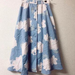 リズリサ(LIZ LISA)のリズリサ  花柄 ロング スカート(ロングスカート)