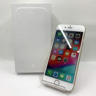 アイフォーン(iPhone)のバッテリー100% docomo iphone6 64GB ゴールド 467(スマートフォン本体)