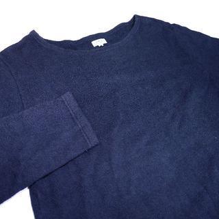 アルモーリュックス(Armorlux)のArmor Lux ロンT 1 S ネイビー 紺  (Tシャツ/カットソー(七分/長袖))