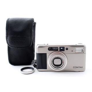 キョウセラ(京セラ)の外観美品&動作確認済み CONTAX TVS Ⅱ T VS D 返品可(フィルムカメラ)