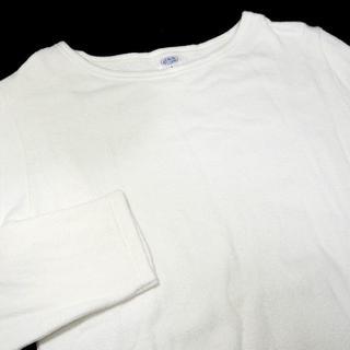 アルモーリュックス(Armorlux)のArmor Lux  ロンT 1 S ホワイト 白 (Tシャツ/カットソー(七分/長袖))