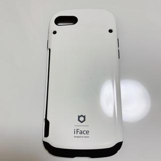 iPhone7 ケース カードホルダー付き iFace アイフェイス(iPhoneケース)