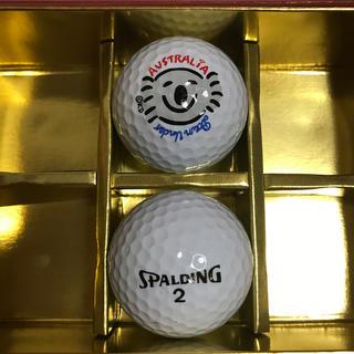 スポルディング(SPALDING)のゴルフボール2個セット コアラ(その他)