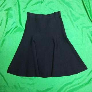 ビーシービージーマックスアズリア(BCBGMAXAZRIA)のBCBGMAXAZRIA フレアースカート(ひざ丈スカート)