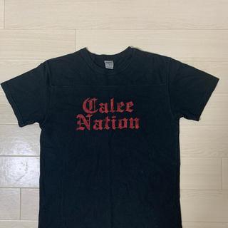 キャリー(CALEE)のCALEE キャリー M   Tシャツ 黒 美品 送料込み(Tシャツ/カットソー(半袖/袖なし))