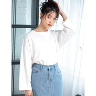 フィフス(fifth)のfifth◾︎新品 未使用 タグ付き◾︎ドロップショルダーロンT◾︎送料込み☆(Tシャツ(長袖/七分))