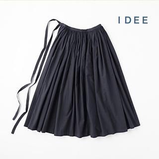 イデー(IDEE)の無印良品 IDEE POOL  いろいろの服 巻きギャザーエプロン (ロングスカート)